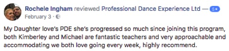 Reviews of Professional Dance Experience Ballet Associates Leeds